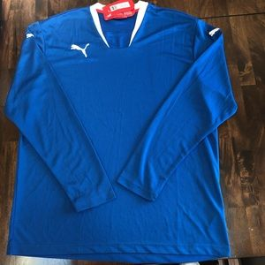 Puma long sleeve athletic shirt